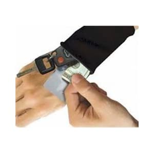 Wrist Wallets with Zippered Pouch Wrist Pouch