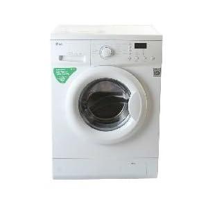 LG F1056LDP Washer Dryer-Blue and White