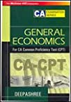 GENERAL ECONOMICS:For CA Common Proficiency Test (CPT)