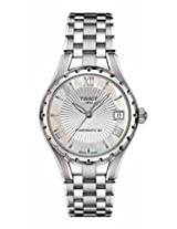 Tissot Lady 80 Automatic White Mother Of Pearl Dial Stainless Steel Ladies Watch T0722071111800
