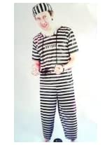 Madcaps The Party Shop Jailer Costume - Adult