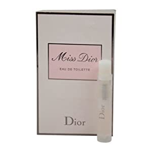 Christian Dior Miss Dior Eau De Toilette Spray For Women, Vial, Mini, 0.03 Ounce