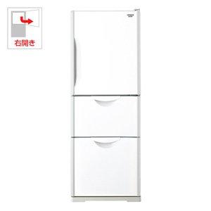 日立 3ドア冷凍冷蔵庫 ビタミン&真空保存 真空チルドV R-27DS (W) クリアホワイト 【265L】