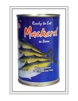 Britte Boiled Mackeral Fish With Salt Water 450 Grams