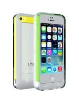 UNU Reveal 2400mAh iPhone 5/5c/5s Battery Case - Retail Packaging - White/Clear