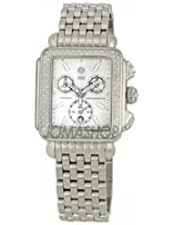 Michele Deco Blanc Diamond Steel Ladies Watch Mww06A000678