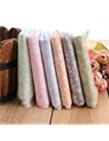 6pcs 40x50cm Mixted Color Cotton Sewing Fabric Dolls Purse Handwork DIY Patchwork Cloths