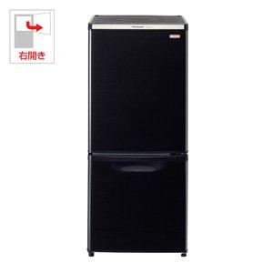 パナソニック 138L 2ドア冷蔵庫 ブラックPanasonic NR-B145W のJoshinオリジナルモデル NR-BW145C-K