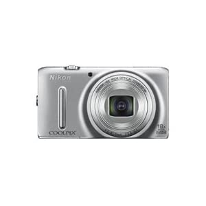 Nikon Coolpix S9400 18MP Point and Shoot Camera (Silver) with 18x Optical Zoom, 4GB Card, Camera Case and HDMI Cable