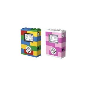 ピンク色のレゴで出来たMP3プレーヤー