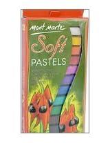 Mont Marte Soft Pastels 12 Shades MMPT0004 Box