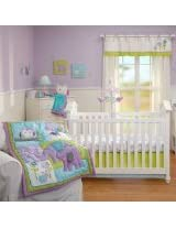 NoJo 4 Piece Crib Bedding Set, Dreamland