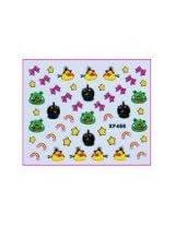 Konad Angry Birds 3D Nail Sticker XF466