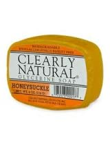 Clearly Natural Glycerine Soap, Honeysuckle, Honeysuckle - 4 Oz