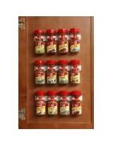 Bellemain Spice Gripper Clip Strips - Set of 3, Holds 12 Jars