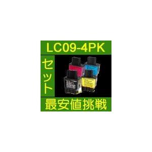 【クリックで詳細表示】互換インク brother LC09-4PK(BK/C/M/Y) 中身 ⇒ (LC09BK・LC09C・LC09M・LC09Y): パソコン・周辺機器