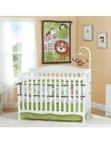 Summer Infant Jungle Buddies 4 Piece Crib Bedding Set