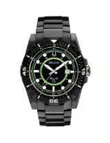 Bulova 98B178 Mens All Black Marine Star Watch