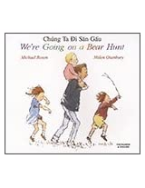 We're Going on a Bear Hunt in Vietnamese and English