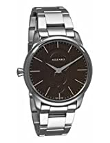 Azzaro Legend Brown Dial Stainless Steel Mens Watch Az2060.12Hm.000
