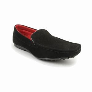 Bacca Bucci Men's Black Loafers