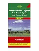 Kenya, Tanzania, Uganda: FB.280 (Road Maps)