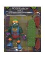 1991 Playmates Teenage Mutant Ninja Turtles Skateboardin Mike