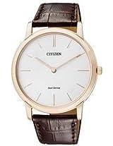 Citizen Eco-Drive Analog White Dial Men's Watch AR1113-12A