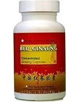 Red Ginseng (Hong Ren Shen), 100 capsules, Plum Flower