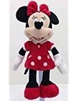"""9"""" Red Minnie Mouse Plush Toy"""