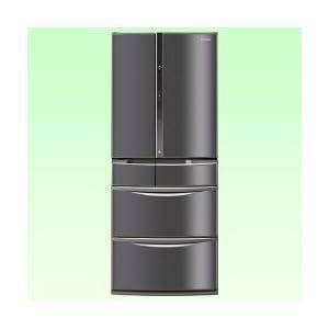パナソニック 603L 6ドア冷蔵庫(ロイヤルダークステンレス)Panasonic ワンダフルオープン NR-F607XV-SK