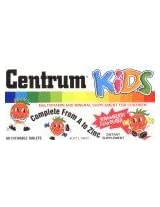 Centrum Kids Multivitamin and Mineral Supplement 60 tabs