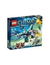 Game / Play LEGO Chima Eris Eagle Interceptor 70003 Includes 3 minifigures: Eris razar and Rizzo Toy / Child / Kid