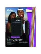 Vivitar SCOLY Olympus Li-Ion Charger (Black)
