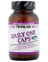 Twinlab - Daily One Caps Multivitamin & Mineral with Iron