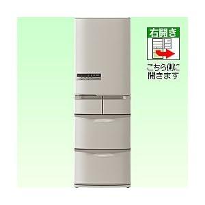 日立 415L 5ドア冷蔵庫(ソフトブラウン)HITACHI フロストリサイクル冷却 ビッグ&スリム60 R-S42CM-T