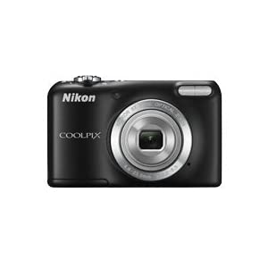 Nikon Coolpix L27 16.1MP Point and Shoot Camera (Black) with 5x Optical Zoom, 4GB Card and Camera Case