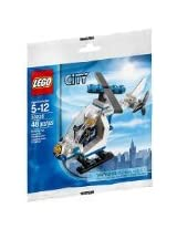Lego, City, Police Helicopter Bagged (30226)
