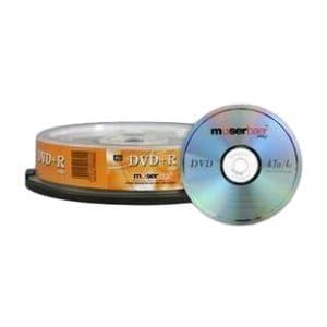 DVD+R 10 cake box