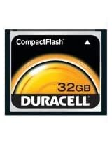 Duracell 32GB CompactFlash Car
