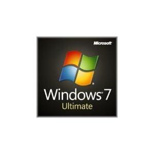 Windows 7 Ultimate SP1 64bit (Full) System Builder OEM DVD 1 Pack