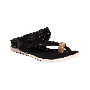 Bacca Bucci Men's Black Sandals