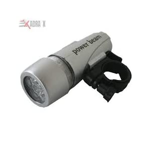 Bicycle Headlight with Power Beam