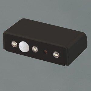 ファイン LEDコンパクトセンサーライト ブラック FIN-306B
