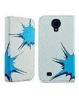 Marware Phone case for Samsung Galaxy S4 - Retail Packaging - Gray/Turquoise