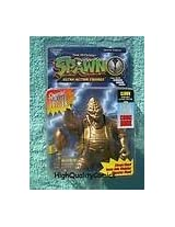 Todd Mcfarlanes Spawn Ultra Action Figure Gold Special Edition Clown W/comic!