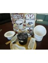 SMORES MAKER - Indoor/Outdoor 3-in-1 Dessert Station (Smores, Fondue, Ice Cream)