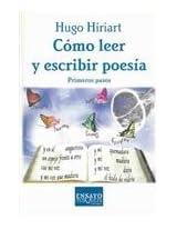 Como Leer Y Escribir Poesia/How to Read and Write Poetry