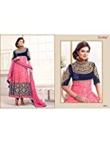 Sayali Bhagat Georgette Semi Stitched Anarkali Suit