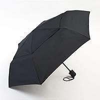 シェッドレイン自動開閉強風対応3段折りたたみ傘 ブラック